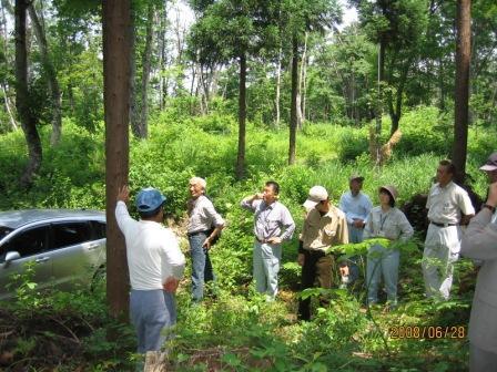 西会津林業1